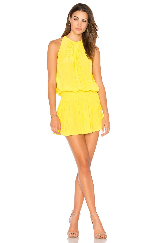 Ramy Brook Paris Dress In Yellow