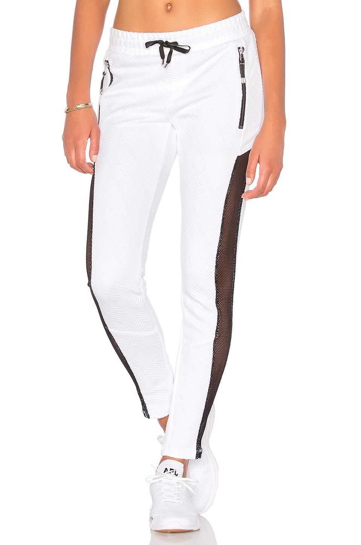 Lukka Lux Herring Jogger In White