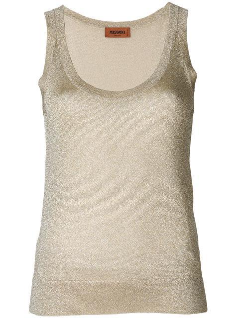 Missoni Fine Knit Tank Top