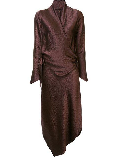 Peter Cohen 'victor' Dress - Brown