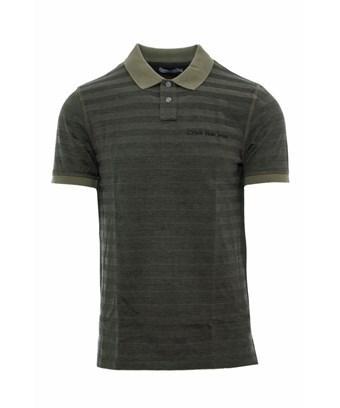 Calvin Klein Jeans Est.1978 Calvin Klein Jeans Men's  Green Cotton Polo Shirt