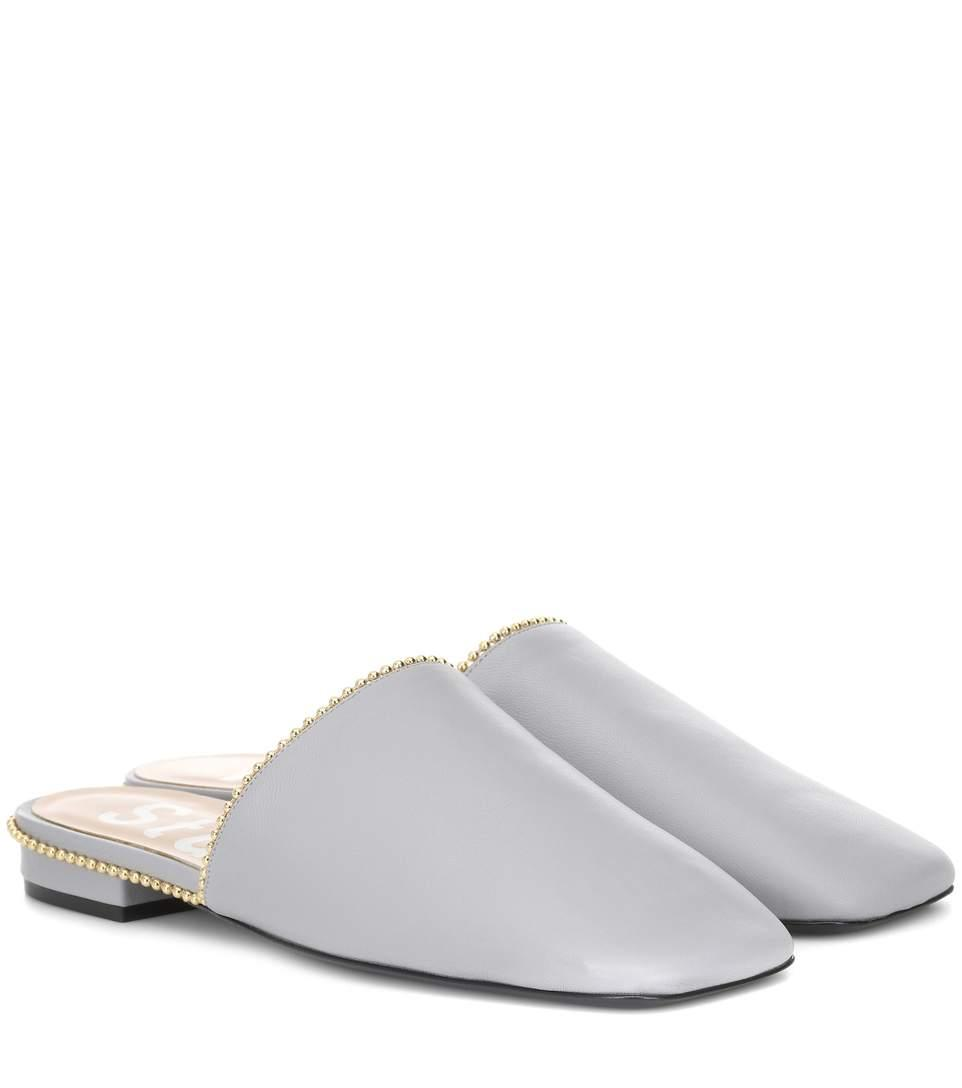 Acne Studios Tessey Leather Slippers