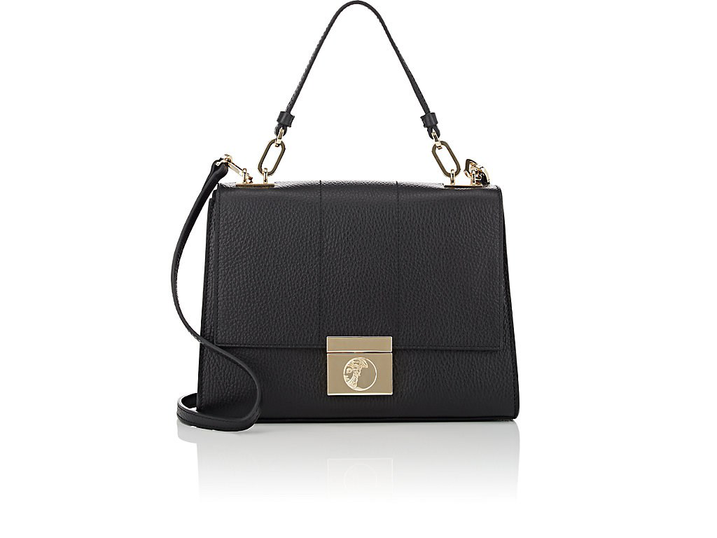 ce069bbe23 Versace Leather Crossbody Bag - Black | ModeSens