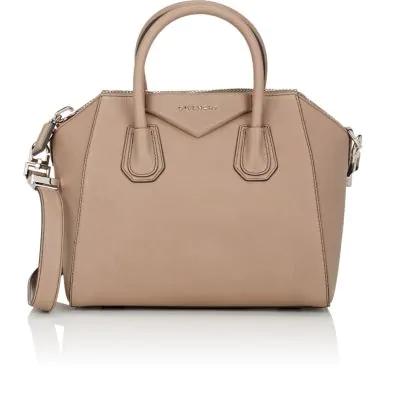 Givenchy Antigona Small Leather Duffel Bag In Linen  4a980c2fb515b