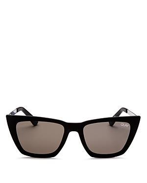 5d2e3987877 Quay X Desi Perkins Don T   Me 48Mm Cat Eye Sunglasses - Black ...