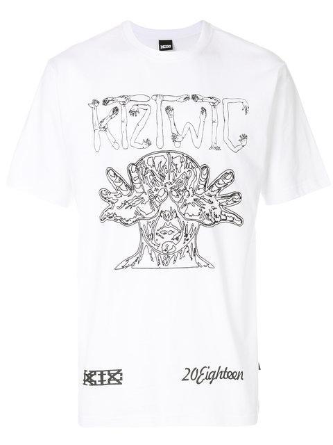 Ktz 'Arm Vision' T-Shirt - Weiß In White
