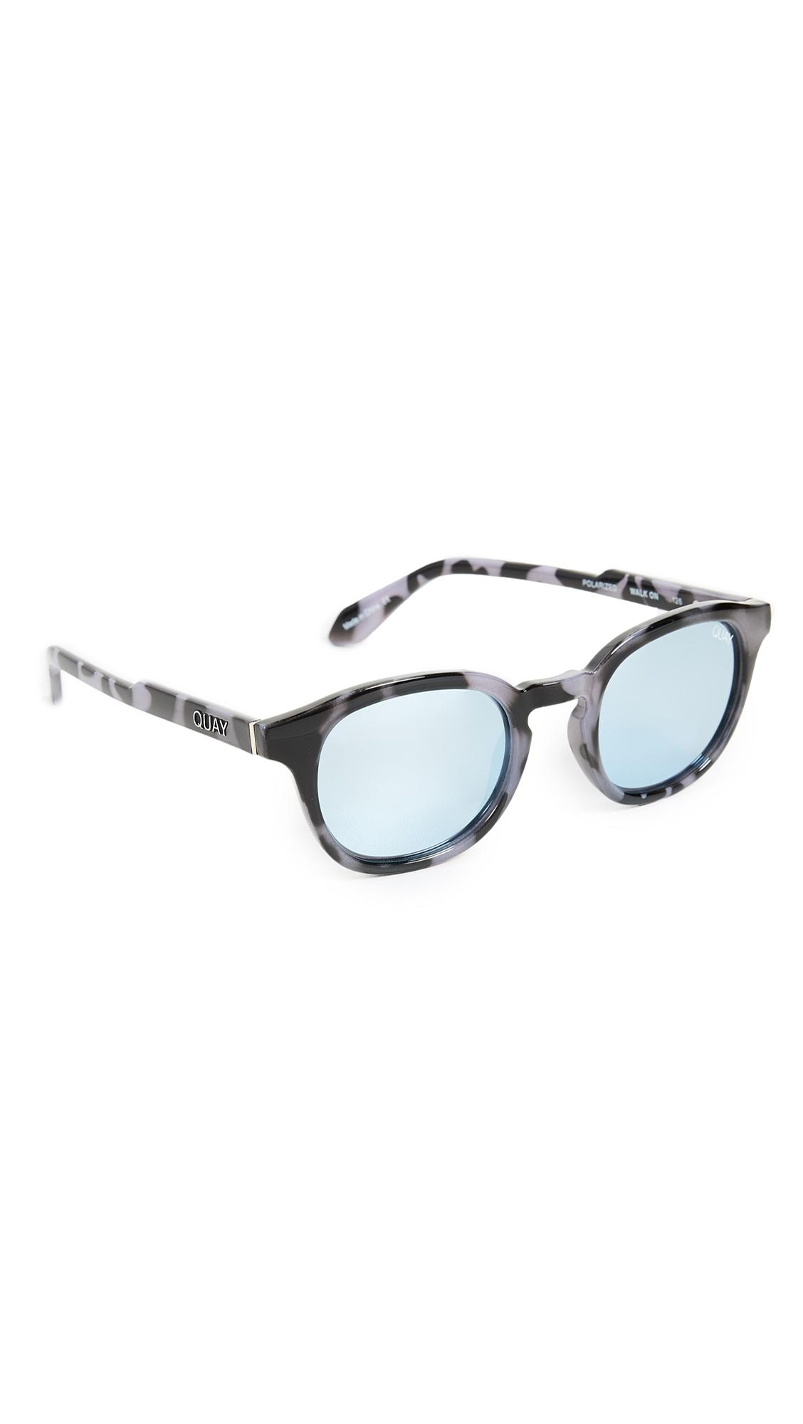 0e8a2b9717c01 Quay Walk On Sunglasses In Navy Tortoise Blue