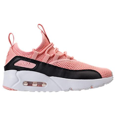 145b0ec0f1 Nike Girls' Grade School Air Max 90 Ultra 2.0 Ease Casual Shoes, Pink