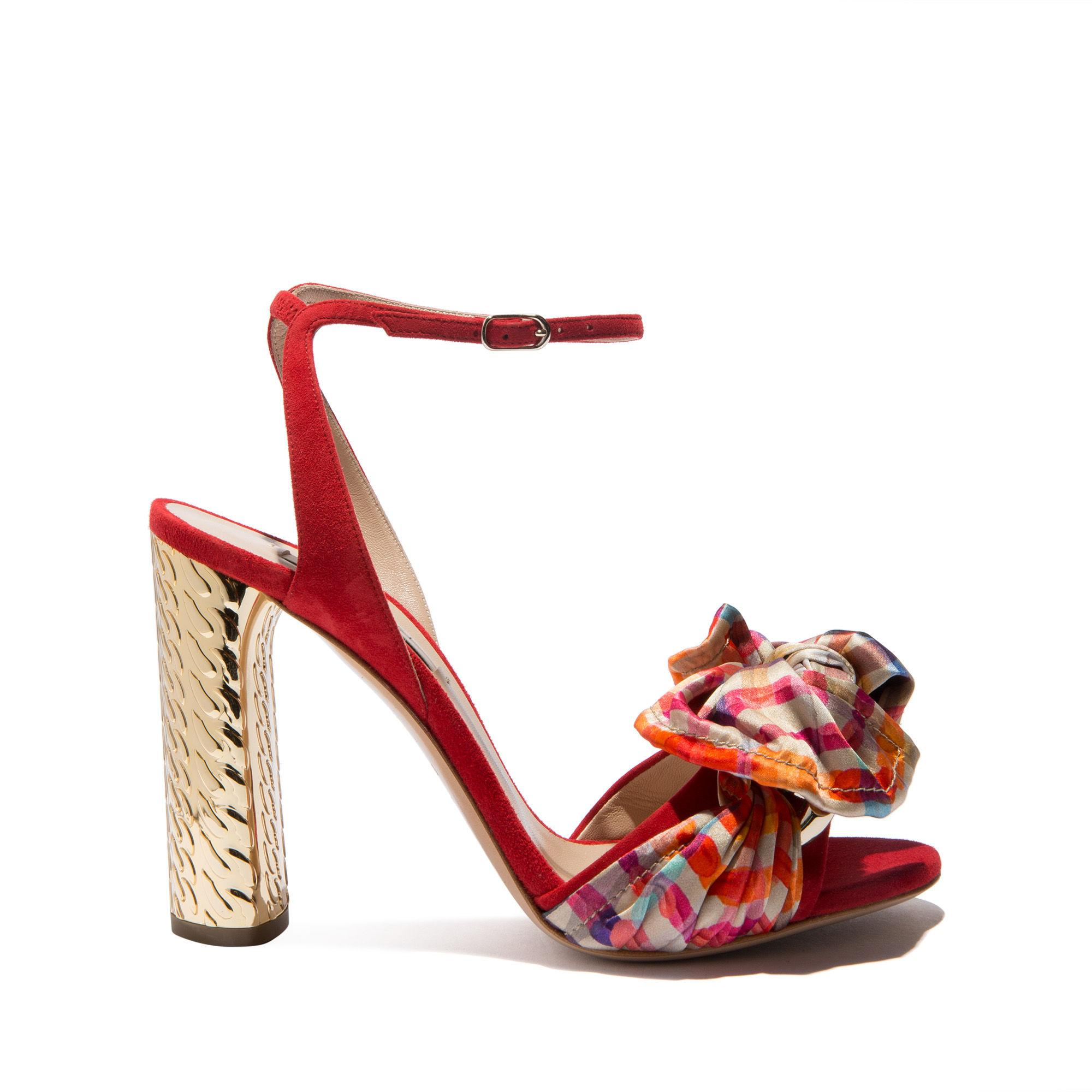 Casadei Daytime In Flame Red