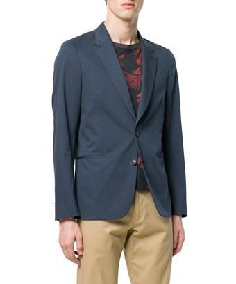 Paul Smith Men's  Blue Cotton Blazer