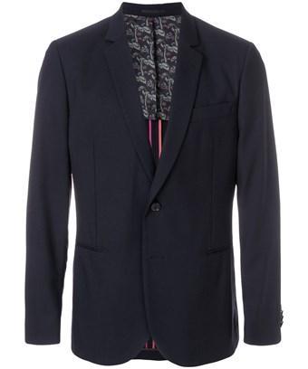 Paul Smith Men's  Blue Wool Blazer