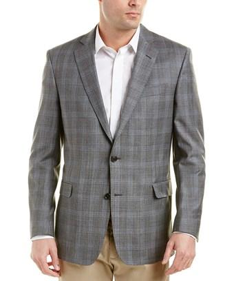 Brooks Brothers Explorer Regent Fit Wool In Grey