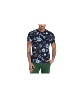 Etro Men's  Multicolor Cotton T-Shirt In Multiple Colors