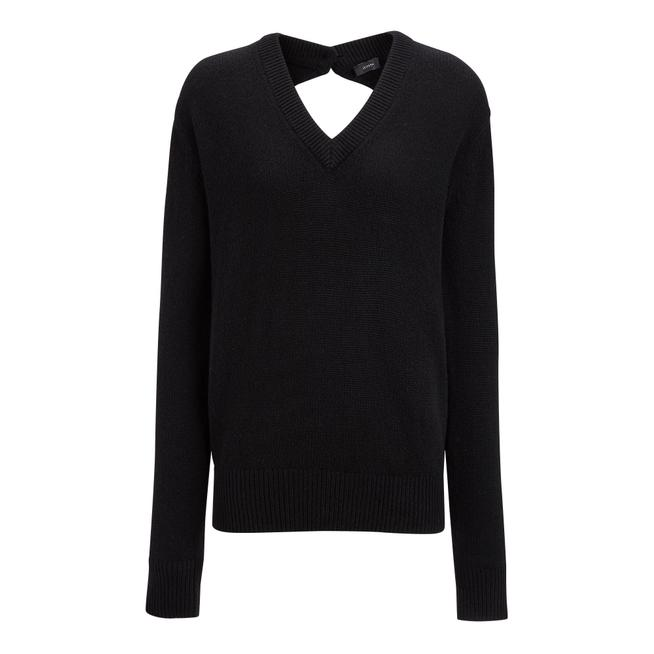 Joseph Open Cashmere V Neck Sweater