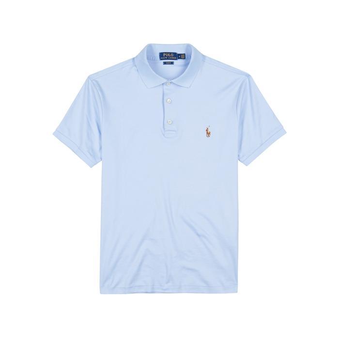 Polo Ralph Lauren Light Blue Pima Cotton Polo Shirt