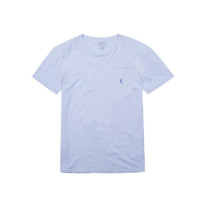 Polo Ralph Lauren Light Blue Cotton T-Shirt