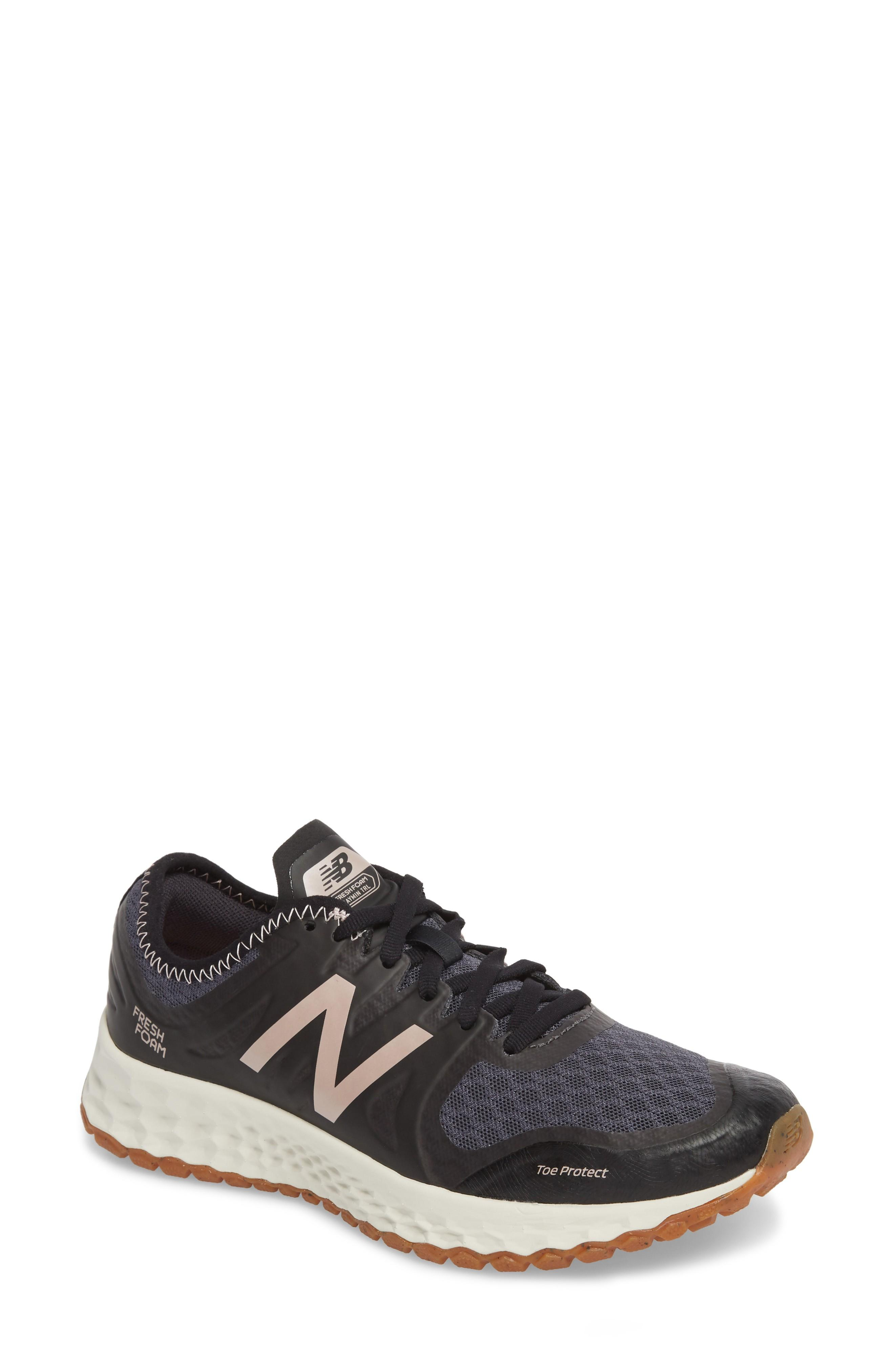 653c8e8b5a8 New Balance Fresh Foam Kaymin Trail Running Shoe In Black