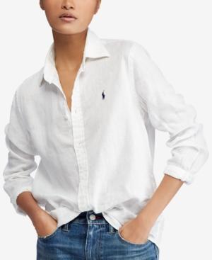 Linen Linen In Relaxed White Relaxed Relaxed Linen In Shirt White Shirt XuiPZk