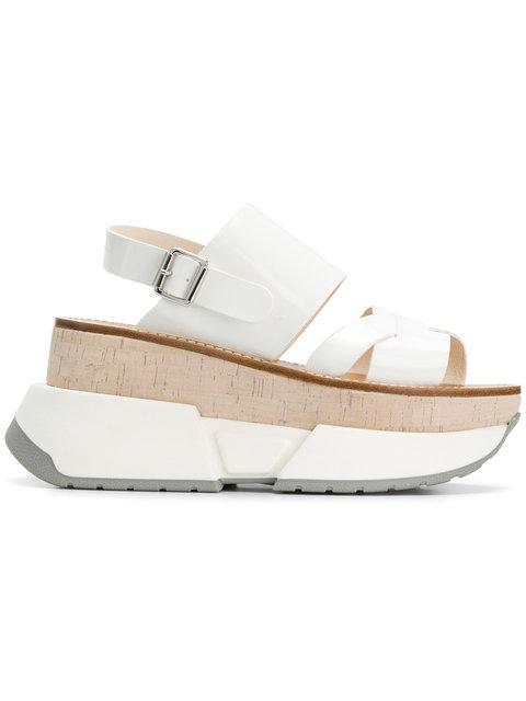 f22c9841946 Mm6 Maison Margiela Platform Sandals