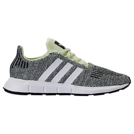 Adidas Men's Swift Run Casual Sneakers From Finish Line in Black