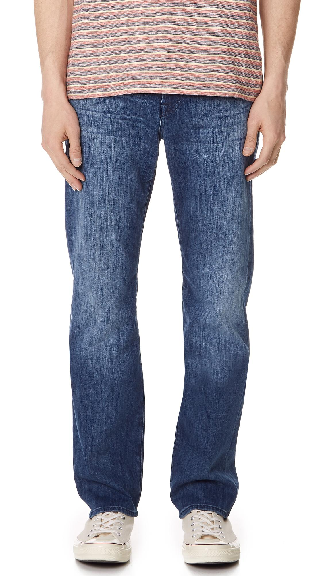 7 For All Mankind Austyn Jeans In Blue