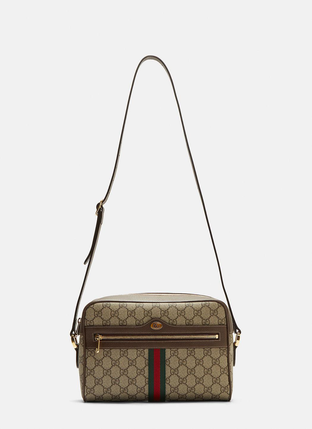 5103a069c9e432 Gucci Ophidia Gg Supreme Camera Bag In Brown | ModeSens