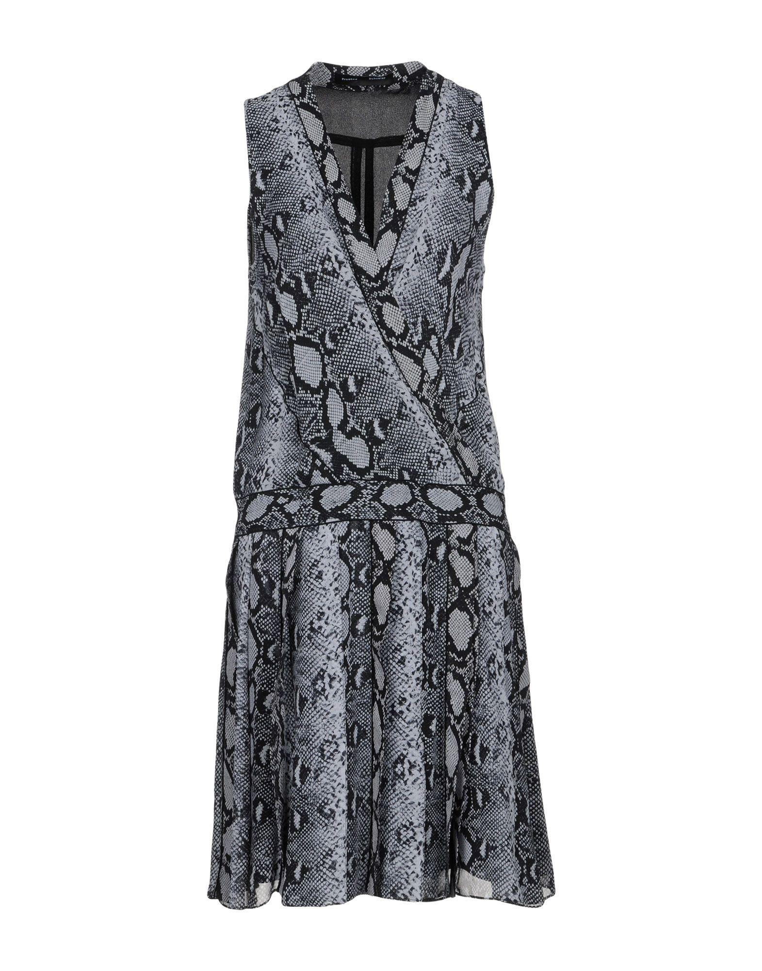 Proenza Schouler Knee-Length Dresses In Grey