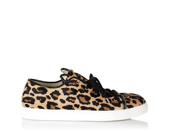 4128a3489632 Charlotte Olympia Purrrfect Leopard-Print Calf Hair Sneakers In  Ponyskin_280_Leopard
