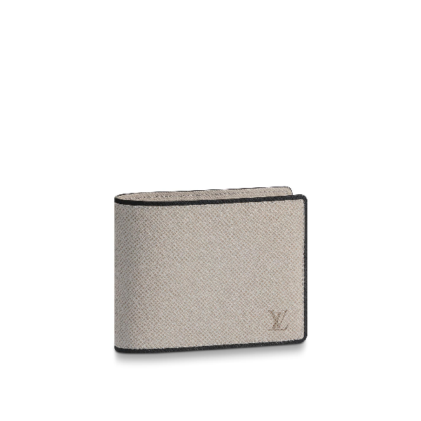 d77f1556b6ff Louis Vuitton Multiple Wallet In Taiga Leather