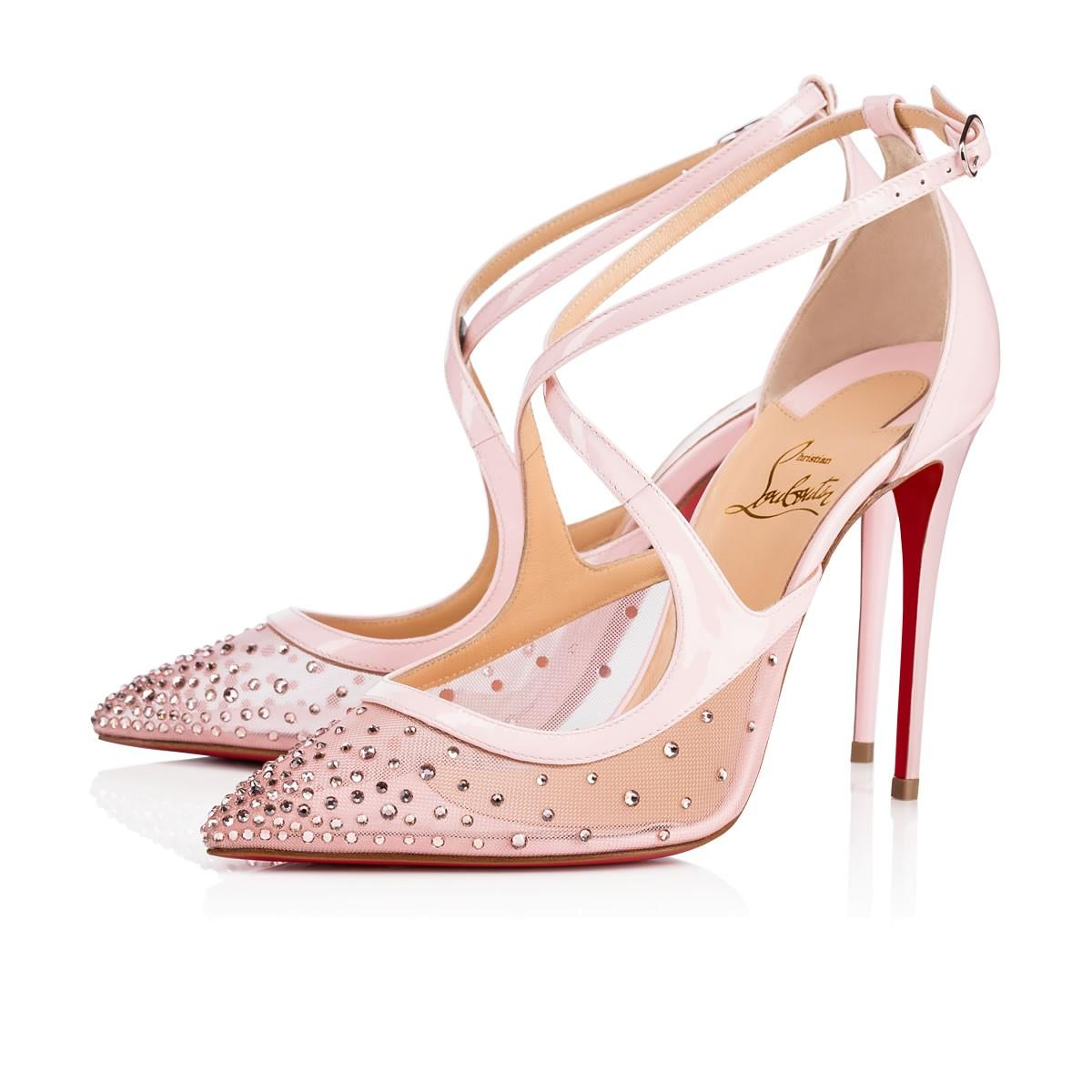 ae34f495fc0f Christian Louboutin Twistissima Strass In Version Vintage Rose ...
