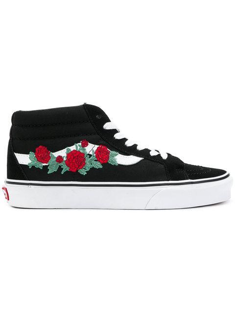 2615df251649 Vans Embroidered Sneakers