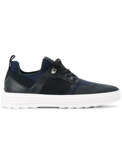 Hogan Chunky Heel Sneakers - Blue