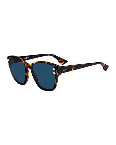 618815aa16d Dior 60Mm Sunglasses - Brown  Yellow Havana In Tortoise Brown   Blue