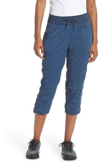 e172bbc3f3 The North Face Aphrodite 2.0 Capri Pants In Blue Wing Teal | ModeSens