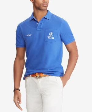 d15b7df5b Polo Ralph Lauren Men's Cp-93 Classic Fit Mesh Polo, Created For Macy's In