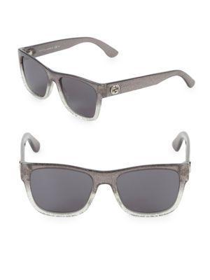 e8db5b2c3dcc Gucci 54Mm Square Sunglasses In Grey | ModeSens
