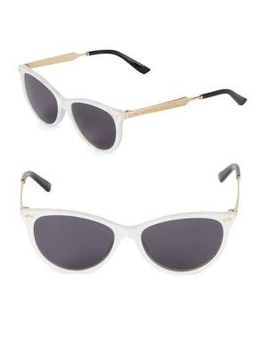 3443a10405f03 Gucci 53Mm Butterfly Sunglasses In Gold Multi
