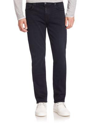 7 For All Mankind Straight Slim Straight Pants In Stockholm