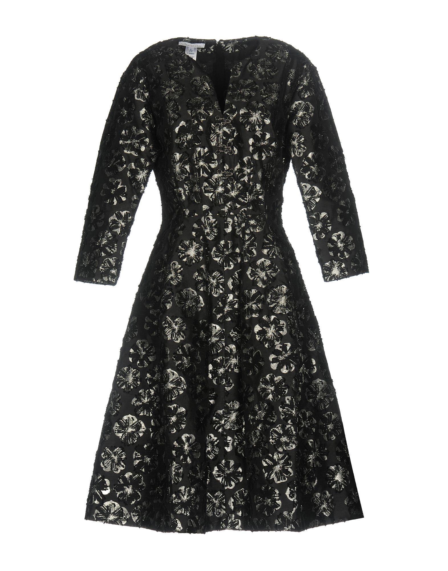 89369cc6468 Oscar De La Renta Knee-Length Dress In Black