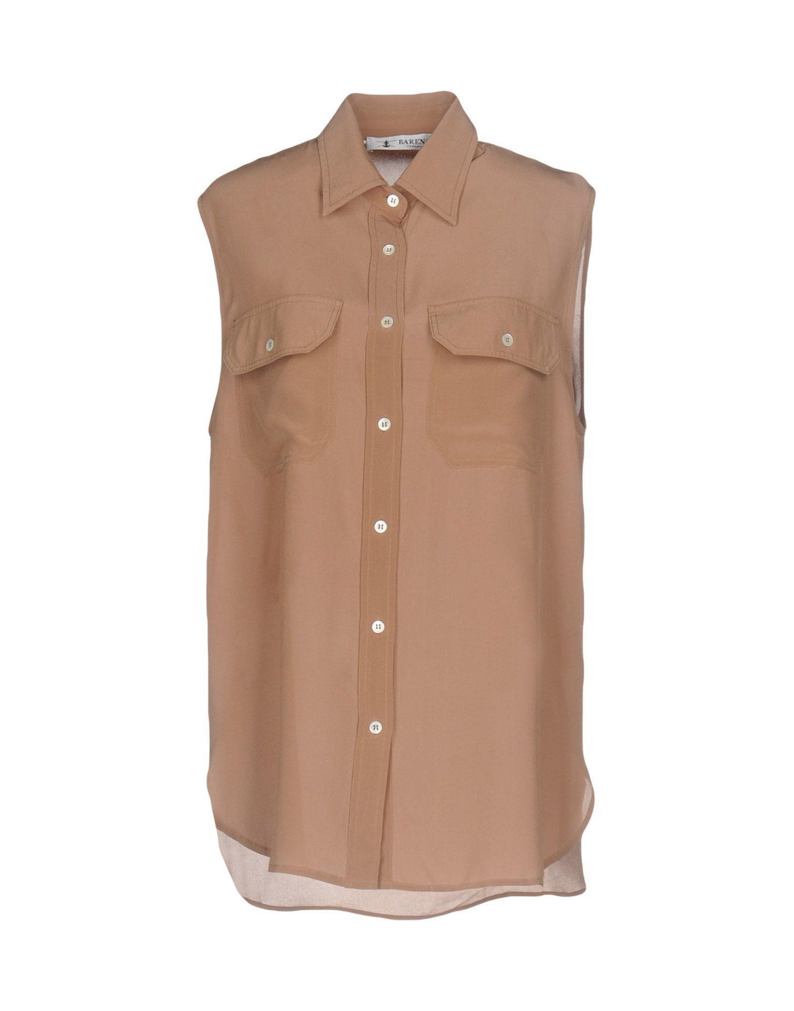 Barena Venezia Shirts In Light Brown