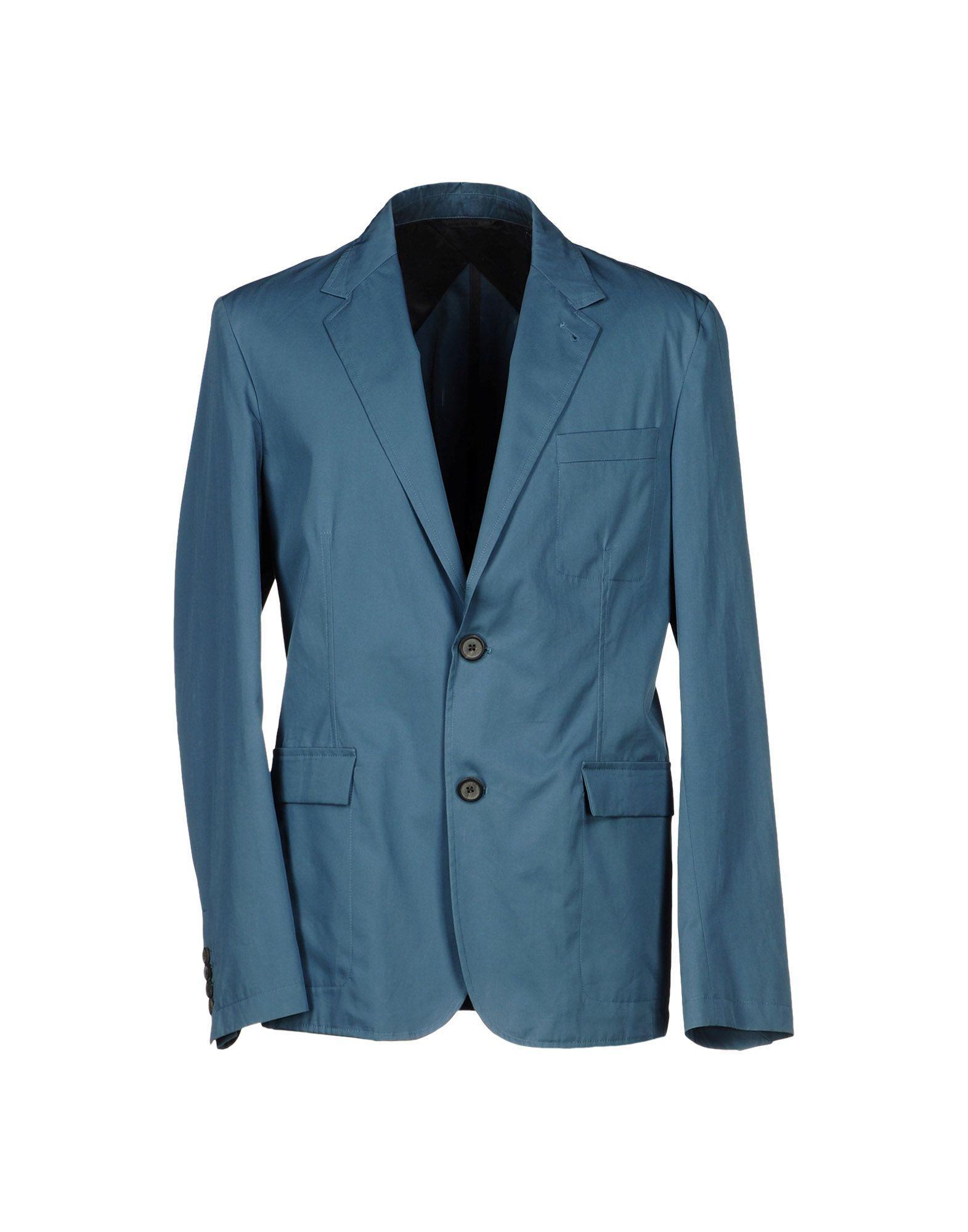 Lanvin Blazer In Pastel Blue