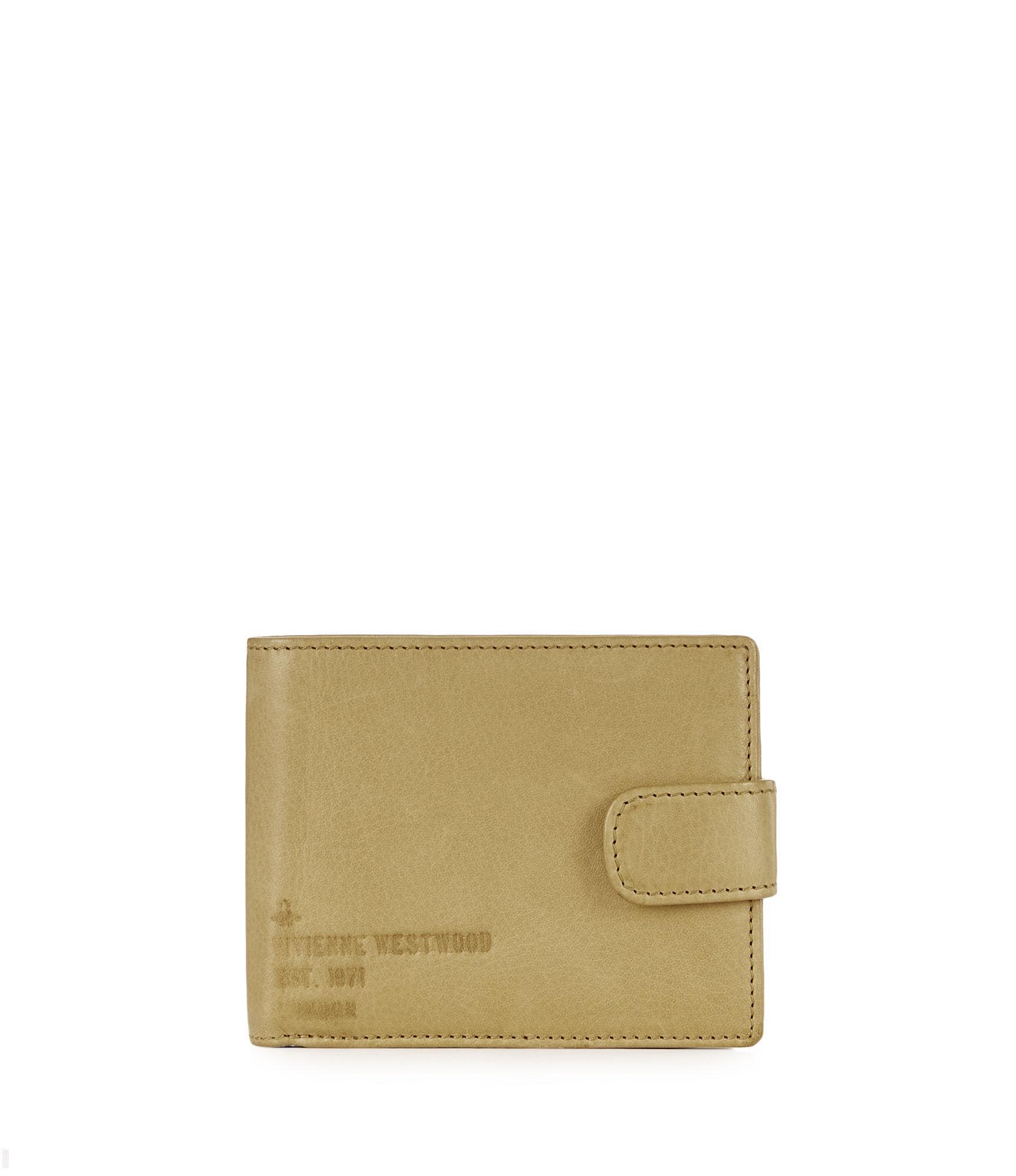 0466131a4e7 Vivienne Westwood Heath Wallet With Flap 51090012 Tan   ModeSens