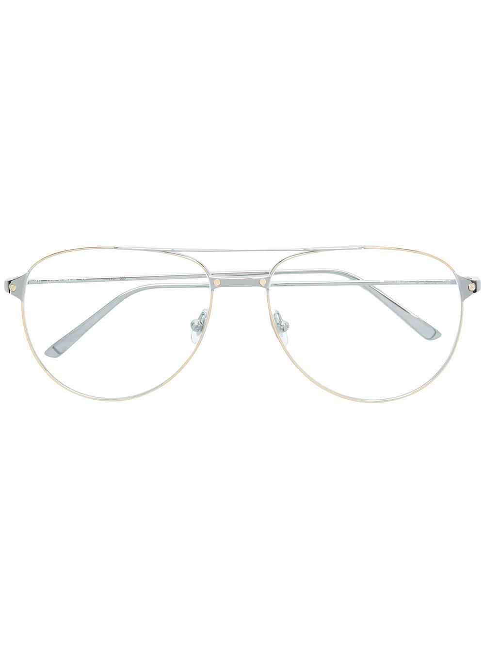 d7c034cd0c7e CARTIER. Santos De Cartier Sunglasses