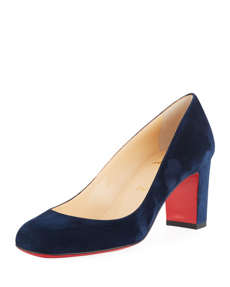competitive price 73bb5 58eac Cadrilla Suede Pumps in Navy