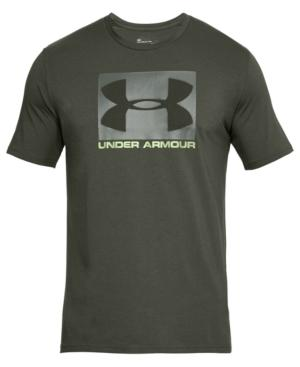 Under Armour Men's Charged Cotton Logo T-Shirt In Green