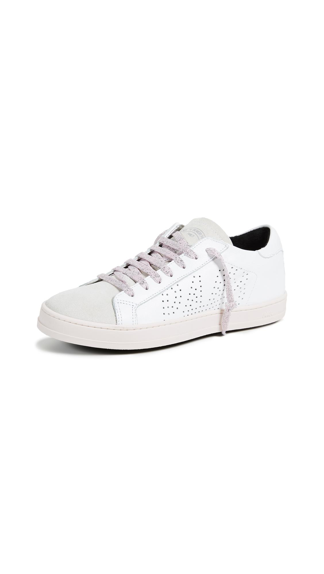 Pin on white sneakers