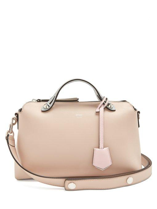 b20c39aa7bd0 Fendi By The Way Small Colorblock Leather Satchel Bag In Light Pink ...