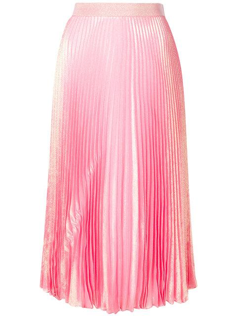 Christopher Kane Irridescent Pleated Skirt