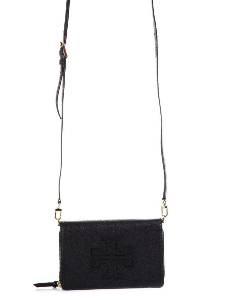 Tory Burch Black Leather Shoulder Bag