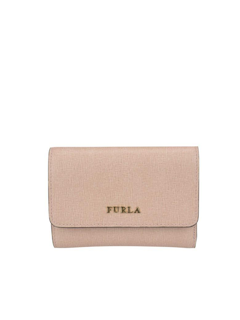 Furla Small Babylon Trifold Wallet In Moonstone